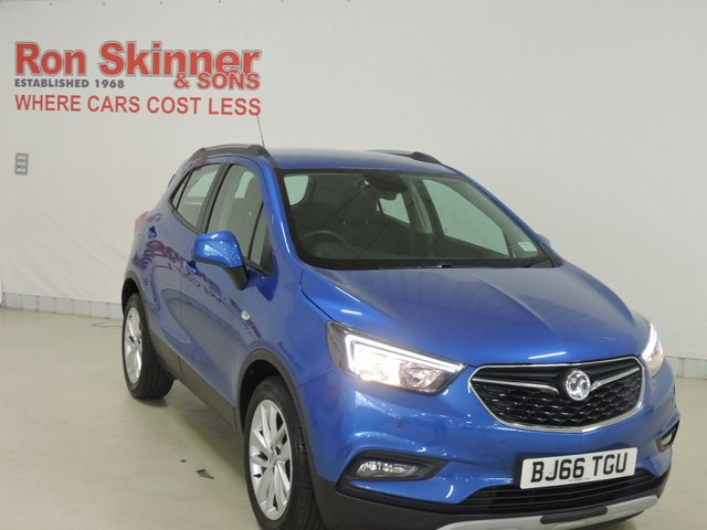 View our 2016 66 VAUXHALL MOKKA X 1.6 ACTIVE S/S 5d 114 BHP