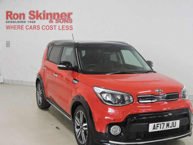 View our 2017 17 KIA SOUL (89)   1.6 CRDI 3 5d 134 BHP