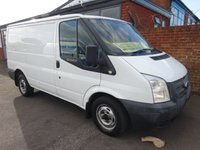 USED 2013 13 FORD TRANSIT 2.2 280 LR 1d 124 BHP NO VAT