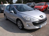USED 2008 PEUGEOT 308 1.6 SPORT 5d 118 BHP ****Great Value economical reliable family car with  service history, drives superbly****