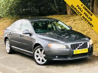 2008 VOLVO S80 2.4 SE SPORT AUTO 4d AUTO 183 BHP £7000.00