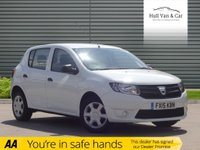 USED 2015 15 DACIA SANDERO 1.1 AMBIANCE 5d 75 BHP ONE OWNER,FULL SERVICE HISTORY