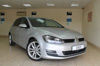 2014 VOLKSWAGEN GOLF 1.4 GT TSI ACT BLUEMOTION TECHNOLOGY DSG 5d AUTO 148 BHP £14995.00