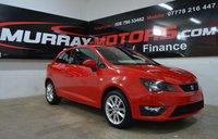 2012 SEAT IBIZA 1.6 CR TDI FR 3DOOR 104 BHP EMOCION RED £SOLD