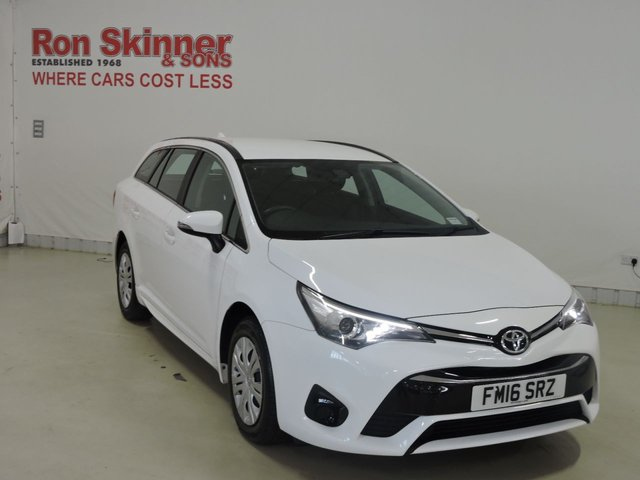 View our 2016 16 TOYOTA AVENSIS 1.6 D-4D ACTIVE 5d 110 BHP