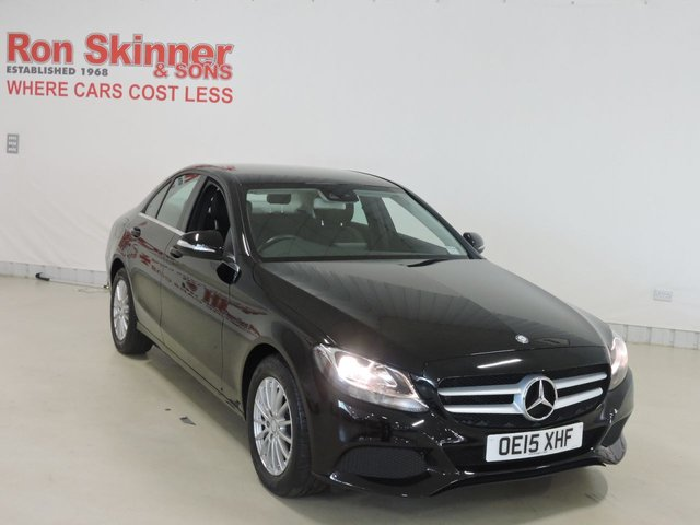 View our 2015 15 MERCEDES-BENZ C-CLASS 2.1 C220 BLUETEC SE EXECUTIVE 4d 170 BHP