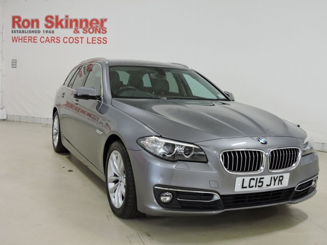 View our 2015 15 BMW 5 SERIES 2.0 520D LUXURY 4d AUTO 188 BHP
