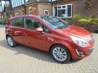2012 VAUXHALL CORSA 1.4 SE 5d AUTO 98 BHP £6995.00