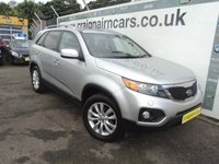 USED 2011 61 KIA SORENTO 2.2 CRDI KX-3 5d 195 BHP Dealer Then One Private Owner 53000 Miles+Bluetooth And Glass Sunroof And 7 Seater