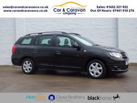 USED 2014 14 DACIA LOGAN MCV 1.1 AMBIANCE 5d 75 BHP One Owner All Dealer History 0% Deposit Finance Available