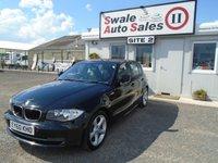 2010 BMW 1 SERIES 2.0 116I SPORT 121 BHP £6295.00