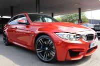 2017 BMW M3 3.0 M3 4d AUTO 426 BHP £38990.00