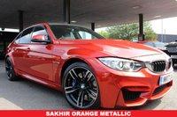 USED 2017 17 BMW M3 3.0 M3 4d AUTO 426 BHP