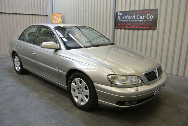 2003 03 VAUXHALL OMEGA 2.6 CDX V6 4d AUTO 179 BHP