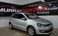 2014 VOLKSWAGEN POLO 1.2 MATCH EDITION TDI 3DOOR REFLEX SILVER £7250.00