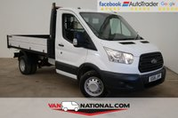 USED 2016 16 FORD TRANSIT 2.2 TDCi 350 L2 H1 1-Way Tipper RWD (Twin wheels one stop body) ** READY TO TIP **