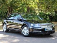 USED 2010 60 VOLKSWAGEN PHAETON 3.0 V6 TDI 4MOTION SWB 4d AUTO 237 BHP