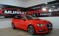 2013 AUDI A3 2.0 TDI SE 5DOOR AUTO 148 BHP MISANO RED £SOLD