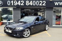 2015 BMW 5 SERIES 3.0 530D M SPORT 4d AUTO 255 BHP £17395.00
