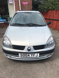 2004 RENAULT CLIO 1.4 EXPRESSION 16V 5d AUTO 98 BHP £SOLD