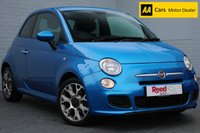 USED 2014 64 FIAT 500 0.9 TWINAIR S 3d 105 BHP BLUETOOTH + METALLIC PAINT