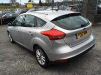 USED 2015 15 FORD FOCUS 1.6 TDCi Zetec (s/s) 5dr £20.00 RFL; 67.3 mpg;