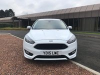 USED 2015 15 FORD FOCUS 1.0 ZETEC S 5d 124 BHP