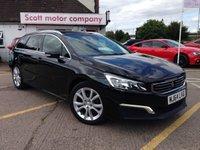 2014 PEUGEOT 508 1.6 e-HDi SW Active 5 door Diesel Estate £6599.00