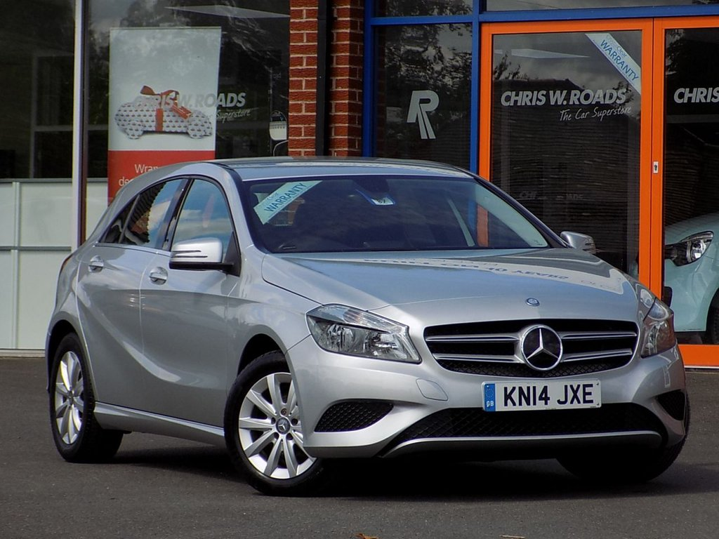 USED 2014 14 MERCEDES-BENZ A CLASS 1.5 A180 CDi BLUEEFFICIENCY SE 5dr AUTO * Sat Nav + Full Mercedes History *