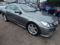 2011 MERCEDES-BENZ E CLASS 2.1 E250 CDI BLUEEFFICIENCY SPORT ED125 2d AUTO 204 BHP £10995.00