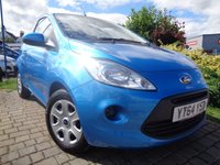 USED 2014 64 FORD KA 1.2 EDGE 3d 69 BHP **1 Owner Full Ford Service History 12 Months Mot**