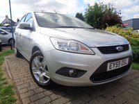 2009 FORD FOCUS 1.6 STYLE 5d 100 BHP £2989.00