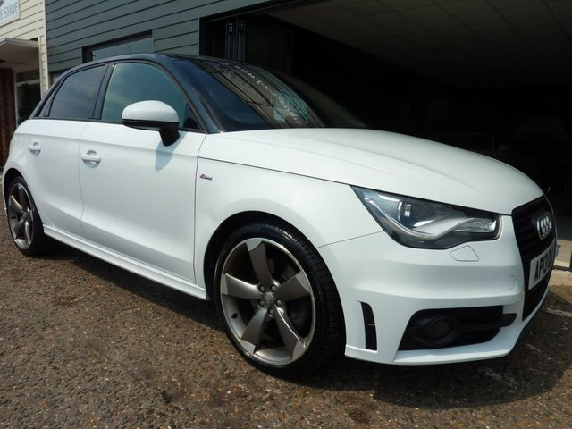 2013 13 AUDI A1 Special Edition 2.0 TDi Black Edition 5dr