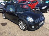 USED 2010 60 MINI CONVERTIBLE 1.6 COOPER D 2d 112 BHP