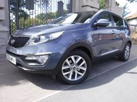 USED 2015 15 KIA SPORTAGE 1.7 CRDI 2 ISG 5d 114 BHP *** FINANCE & PART EXCHANGE WELCOME *** 1 OWNER PANORAMIC ROOF BLUETOOTH PHONE HALF LEATHER PARKING SENSORS