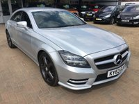2013 MERCEDES-BENZ CLS CLASS 3.0 CLS350 CDI BLUEEFFICIENCY AMG SPORT 4d AUTO 265 BHP £15995.00