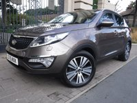 USED 2015 15 KIA SPORTAGE 2.0 CRDI KX-3 5d AUTO 134 BHP *** FINANCE & PART EXCHANGE WELCOME *** 1 OWNER 4X4 DIESEL AUTOMATIC PANORAMIC ROOF BLUETOOTH PHONE FULL LEATHER HEATED SEATS PARKING SENSORS