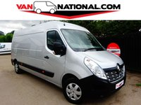 2016 RENAULT MASTER 2.3 LM35 BUSINESS PLUS DCI S/R 125 BHP (AIR CON ONE OWNER) £13495.00