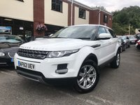 USED 2012 62 LAND ROVER RANGE ROVER EVOQUE 2.2 SD4 PURE TECH 5d 190 BHP