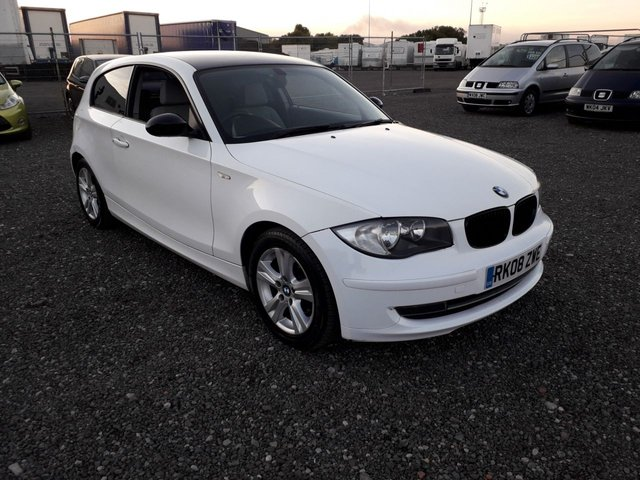 2008 08 BMW 1 SERIES 2.0 118D SE 3d 141 BHP