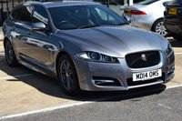 2014 JAGUAR XF 2.2 D R-SPORT SPORTBRAKE 5d AUTO 163 BHP £16795.00