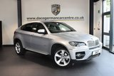 USED 2011 11 BMW X6 3.0 XDRIVE40D 4DR AUTO 302 BHP + FULL BLACK LEATHER INTERIOR + FULL BMW SERVICE HISTORY + PRO SATELLITE NAVIGATION + BLUETOOTH + REVERSE CAMERA + HEATED SPORT SEATS + CRUISE CONTROL+ PARKING SENSORS + 20 INCH ALLOY WHEELS +