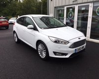 USED 2016 66 FORD FOCUS 1.0 TITANIUM X ECOBOOST 125 BHP THIS VEHICLE IS AT SITE 1 - TO VIEW CALL US ON 01903 892224
