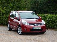 2011 NISSAN NOTE 1.6 TEKNA 5d AUTO 110 BHP £5570.00