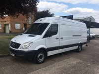USED 2013 13 MERCEDES-BENZ SPRINTER 2.1 313CDI LWB HIGH ROOF 130BHP. 1 OWNER. SECURITY DEAD LOCKS 0% DEPOSIT FINANCE. PX WELCOME. 1 OWNER.