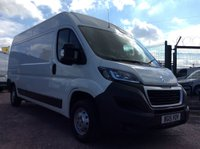 USED 2015 15 PEUGEOT BOXER LWB 2.2 HDI 335 L3H2 PROFESSIONAL 130 BHP 1 OWNER FSH NEW MOT  FREE 6 MONTH AA WARRANTY INCLUDING RECOVERY AND ASSIST NEW MOT REAR PARKING SENSORS ELECTRIC WINDOWS AND MIRRORS 6 SPEED BLUETOOTH