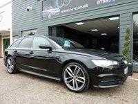 2015 AUDI A6 2.0 AVANT TDI ULTRA S LINE BLACK EDITION 5d AUTO 188 BHP £18995.00