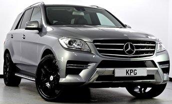 2013 MERCEDES-BENZ M CLASS 3.0 ML350 CDI BlueTEC AMG Sport 7G-Tronic Plus 5dr £22495.00