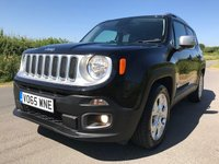 2015 JEEP RENEGADE 1.4 LIMITED 5d 138 BHP £10695.00