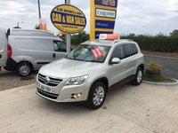 2011 VOLKSWAGEN TIGUAN  MATCH 2.0 TDI 4MOTION 140BHP **WOW ONLY 22000 MILES* £10995.00